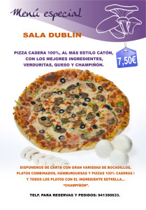 41 menu DUBLIN